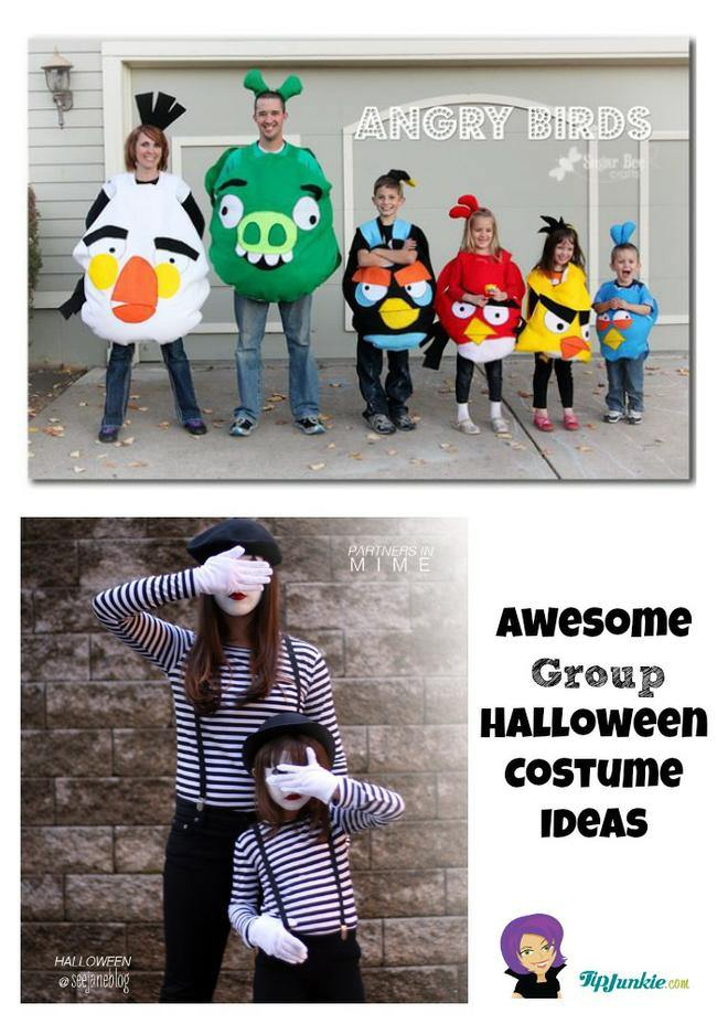 Awesome Group Halloween Costume Ideas