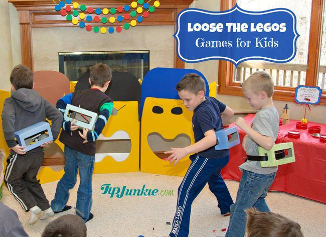Loose the Lego Party Games for Kids TipJunkie