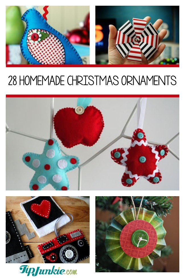 28 Homemade Christmas Ornaments to Make
