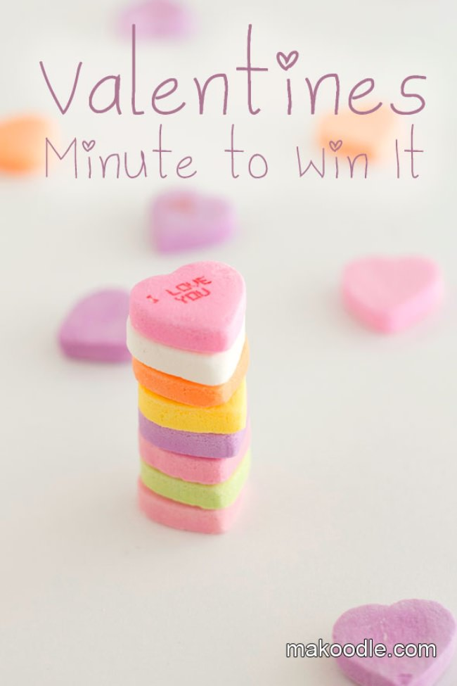 Valentine's Minute to Win It