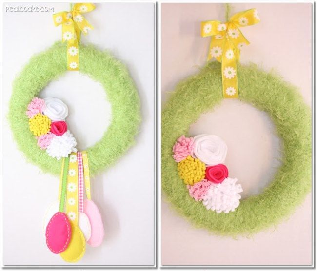 Interchangeable Easter to Spring Wreath