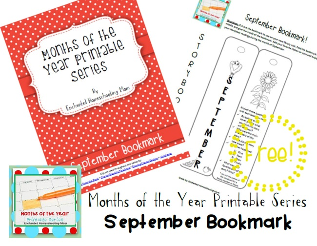Months of the Year Printable Series {September}