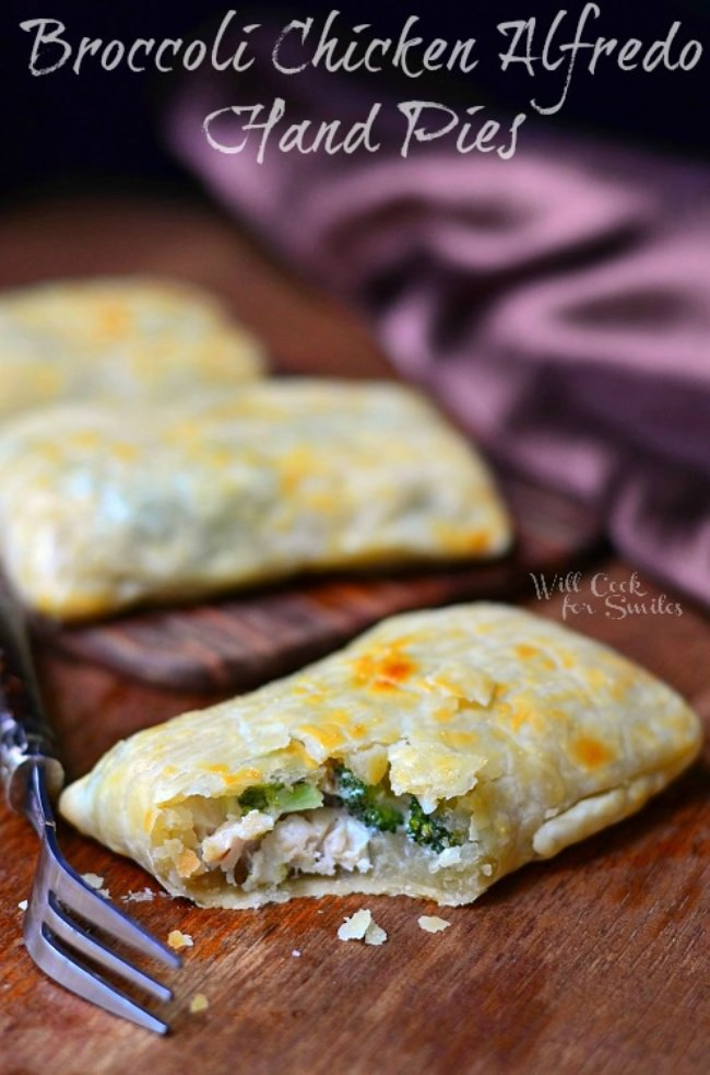 Broccoli Chicken Hand Pies