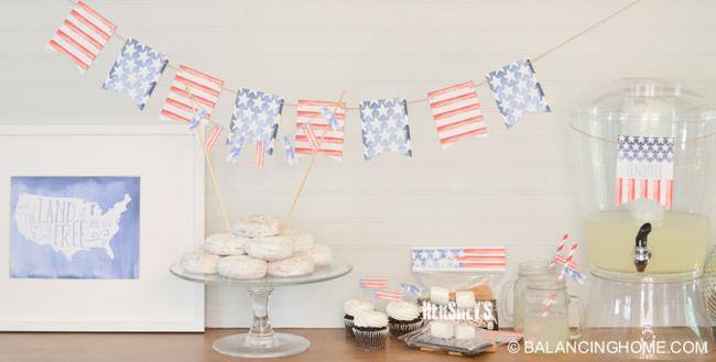 Patriotic Printable Set