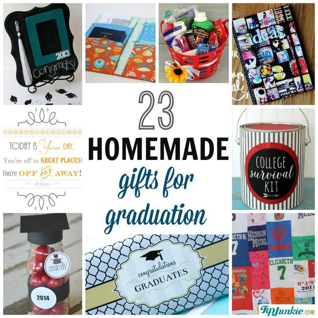 23 easy graduation gifts you can make in a hurry tip junkie