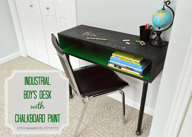 How to Make an Industrial Desk