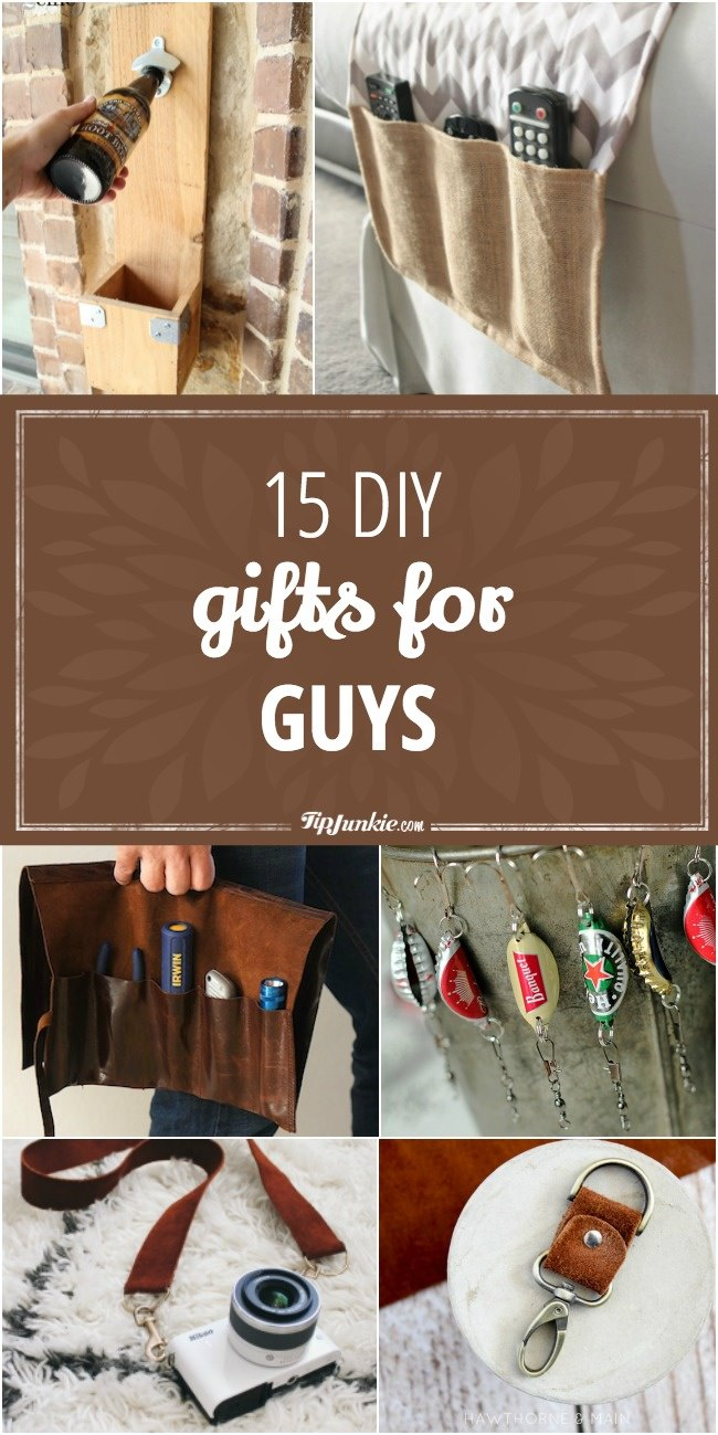 15 DIY Gifts for Guys-jpg