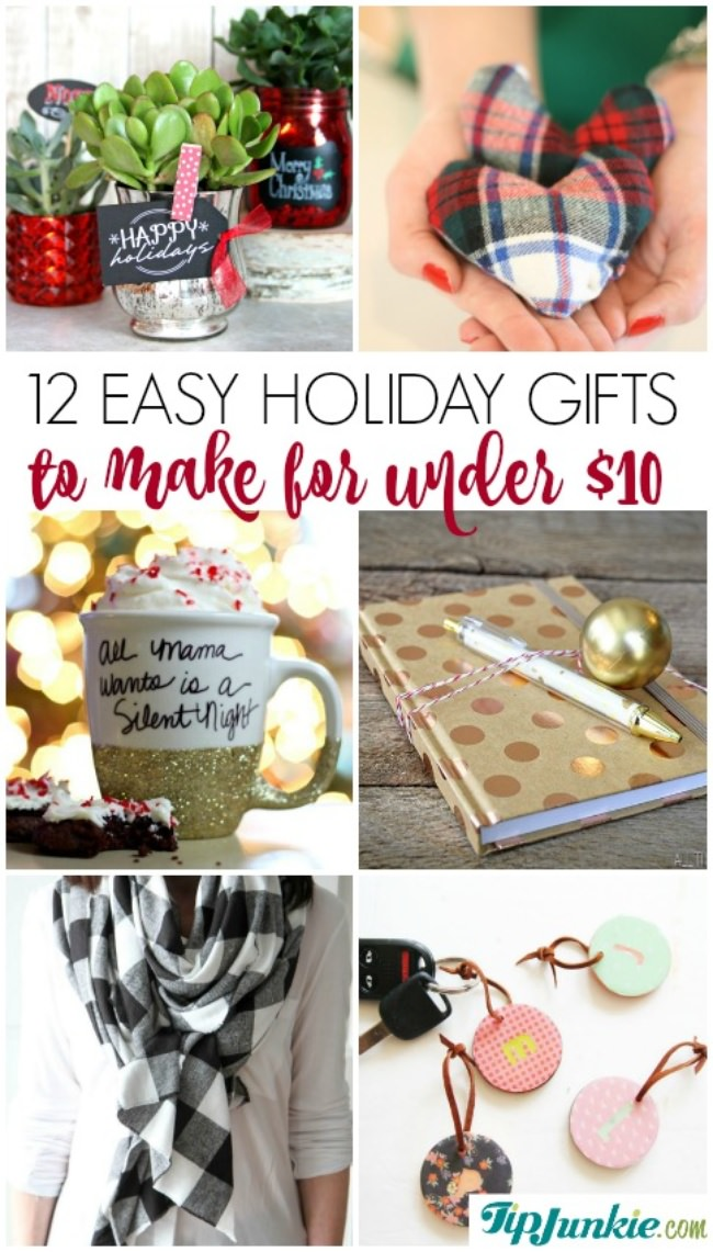 12 Easy Holiday Gifts To Make For Under 10 Jpg