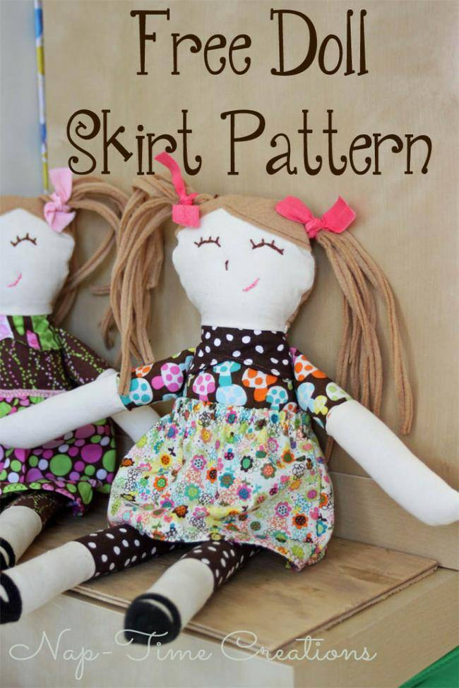 Doll Skirt Tutorial