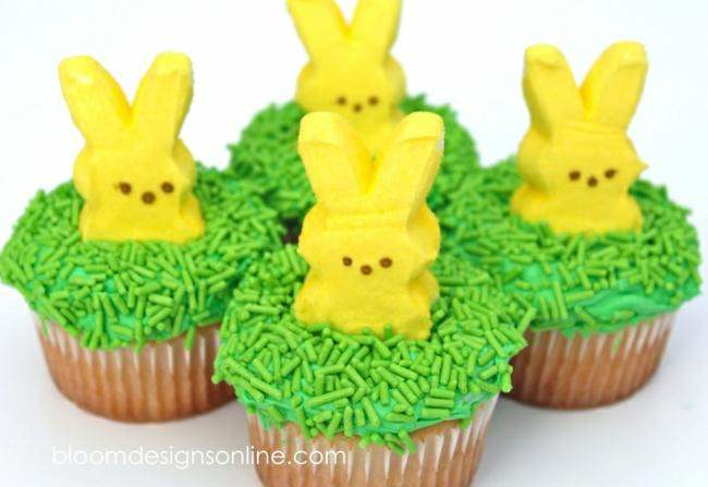 75 best easter crafts and activities for kids tip junkie for Cute cupcake decorating ideas for easter