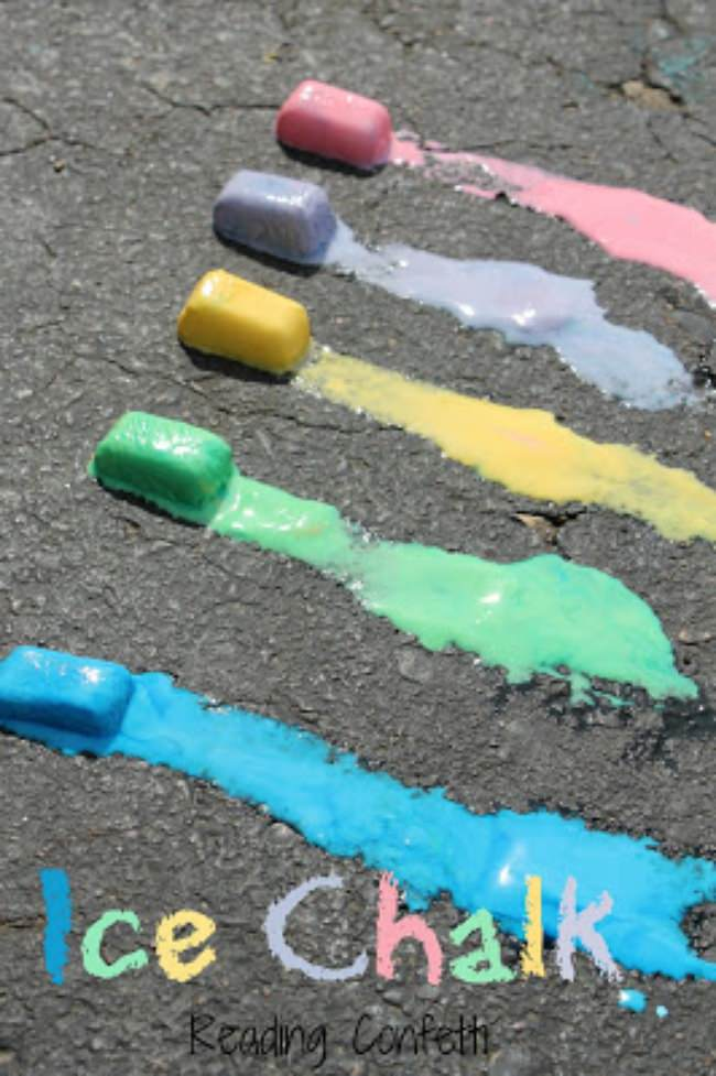 Ice Chalk {Art Project}