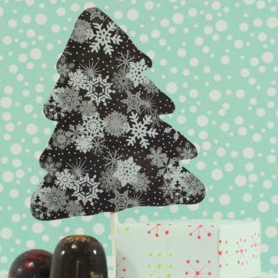 Chocolate Christmas Tree Lollipops and Chocolate Truffle Presents