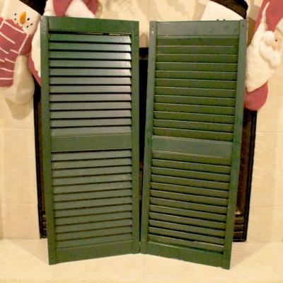 Christmas Card Shutters