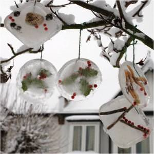Ice Ornaments {Activities for Kids}