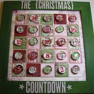 Magnetic Advent Calendar with Good Deeds