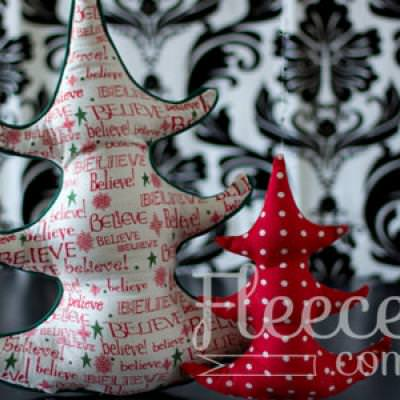 Oh Christmas Tree Pillow Pattern