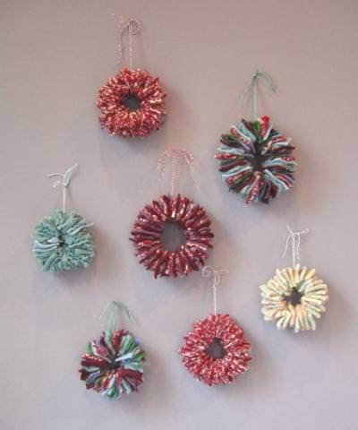 Wool Felt Ornaments {tutorial}