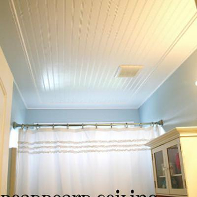 Bead Board Ceiling Before Amp After Tip Junkie