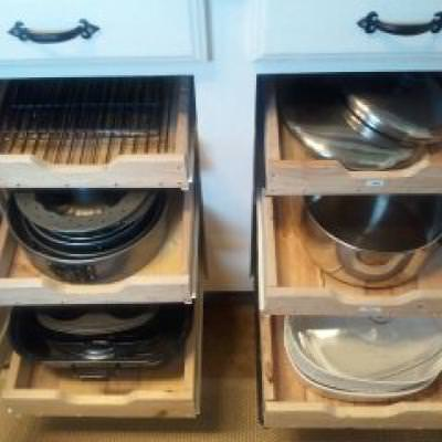 Build Drawers for Your Cabinets {Armoires & Cabinets}