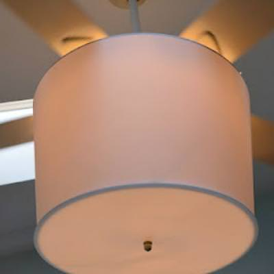 Chandelier Ceiling Fan {re-do}