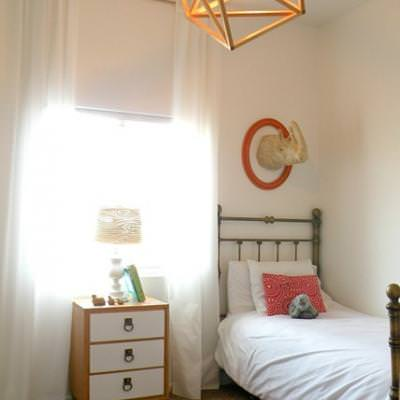 Cube Chandelier {DIY Light}