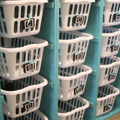 DIY Laundry Sorter {Chests & Consols}