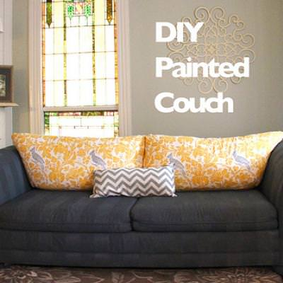 Painted Sofa {re Do}