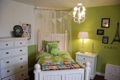 """Every Girl Needs a """"Paris"""" Themed Bedroom {Before and After}"""