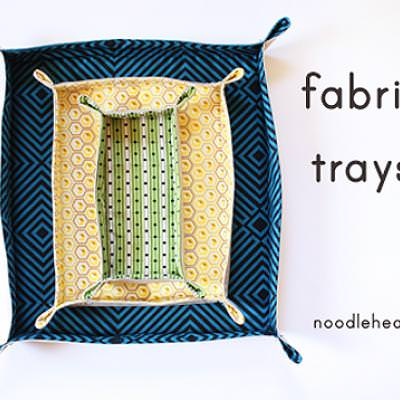 Fabric Tray {Fabric Projects}