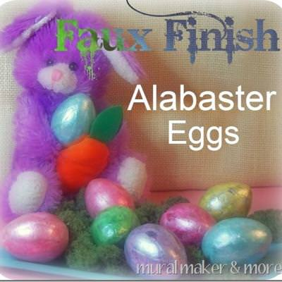 "Faux ""Alabaster"" Easter Eggs"