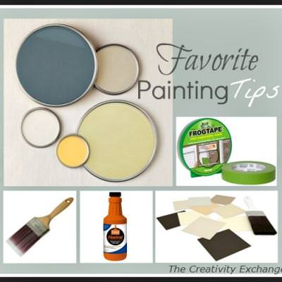 Favorite Paint Tips and Tricks