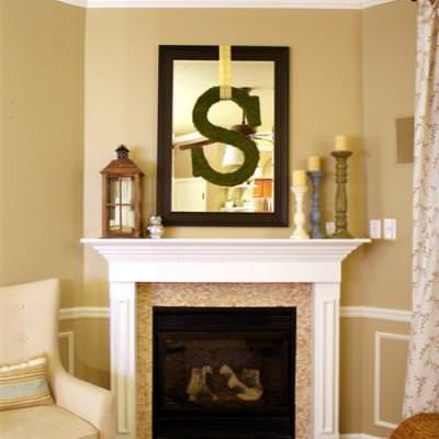 Fireplace Redo {living room fireplace}