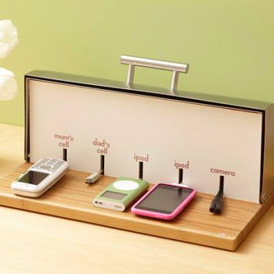 From a Bread Box to a Charging Station {Accessories}