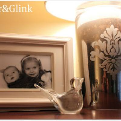 Glass Lamp {Pottery Barn Hack}