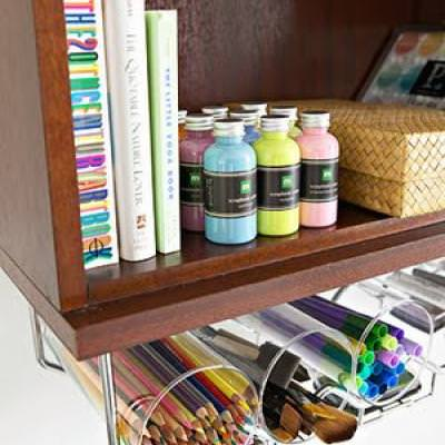 Home Office Organization Tips  {Home Office}