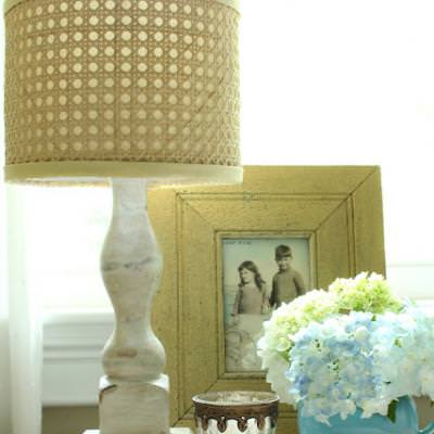 Horchow Inspired Natural Cane Lamp Shade