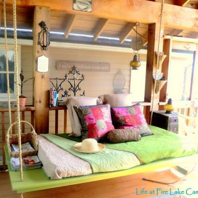 How to build a hanging bed outdoors tip junkie for How to build a hanging bed