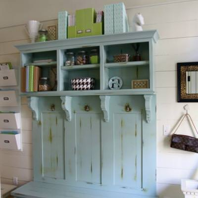 How to Create a Mud room {before and after}