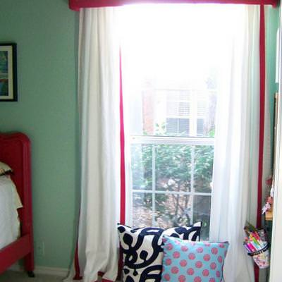 How to Create a Pelmet Box {window treatment}