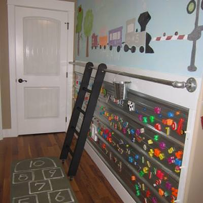 How to Create a Playroom Activity Wall {room to play}