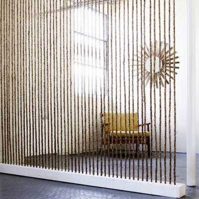 How to Create a Rope Room Divider