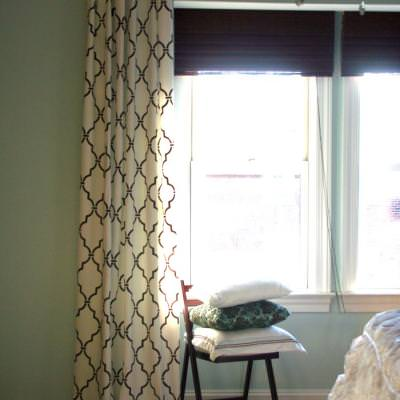 How to Create Ballard Designs Inspired Curtains {ikea hack}