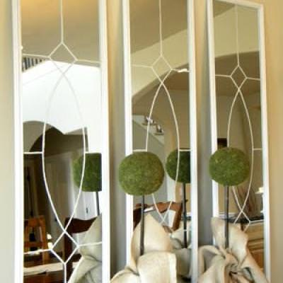 How to Create Ballard Designs Inspired Mirrors {knock off}