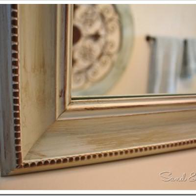 How to Frame and Paint a Builder Grade Mirror
