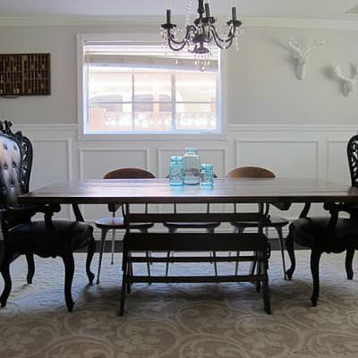 how to make a dining room tabletop how to build a table tip junkie. Black Bedroom Furniture Sets. Home Design Ideas