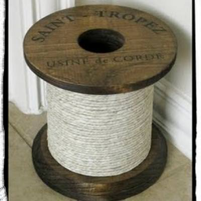 How to Make a Spool {inspired by Ballard Designs}