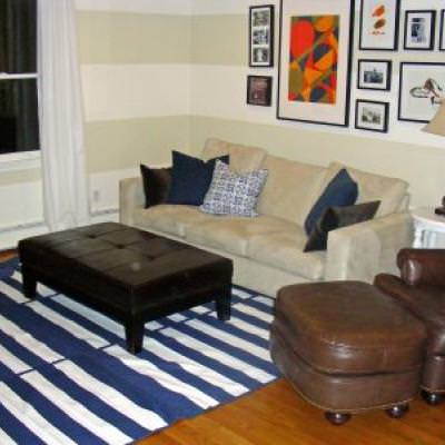 How To Make An Inexpensive Large Rug Ikea Hack
