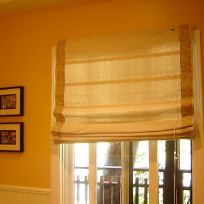 how to make roman shades from mini blinds shades