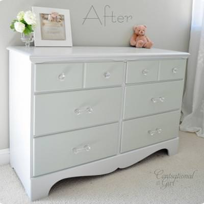 How to Paint Furniture {wood finishing}