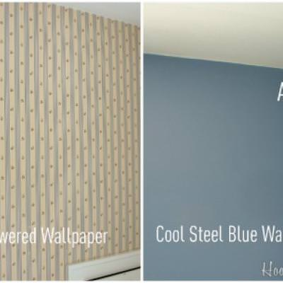 How to Strip Wallpaper {video tutorial}